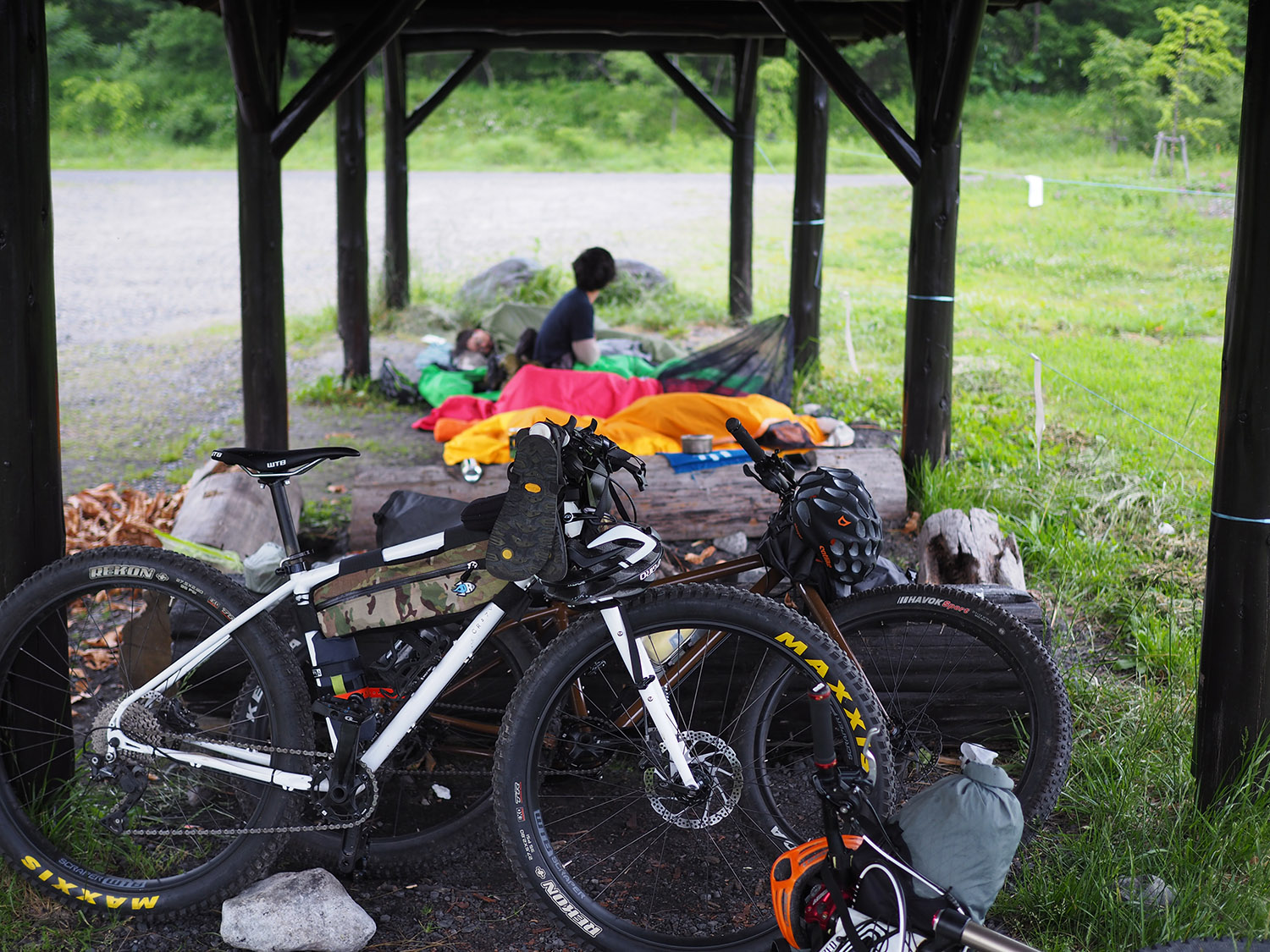 塩の道 逆走 Bike Packing [ DAY2 ]
